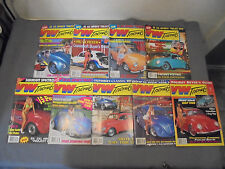 Lot of 9 - 1993 VW Trends Magazine