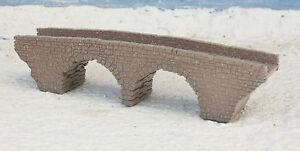 Track Z Bridge Stone Arch Bridge 2 Sheets Laser Engraved