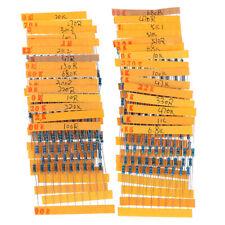 300pcs 30 Values Each Value Metal Film Resistor Pack 14w Resistor Assorteh3