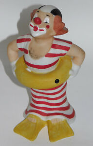 Porzellanfigur Clown Bozo Happy Clowns Goebel 12cm
