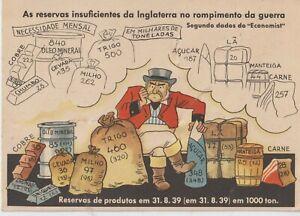 PROPAGANDA ANTI ENGLISH ENGLAND'S INSUFFICIENT RESERVES AT THE BREAK OF WAR
