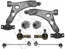 FOR FORD FOCUS MK1 98-04 2 FRONT WISHBONE ARMS 2 TRACK ROD ENDS 2 LINKS 2 BUSHES