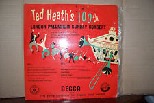 TED HEATH,  100TH LONDON PALLADIUM CONCERT,  DECCA RECORDS 1955