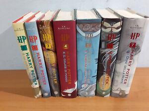 HARRY POTTER PRIMA SERIE SALANI vecchia traduzione Collezione completa 7 libri