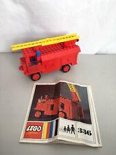 LEGO Classic Legoland 336-1 Fire Engine 🚒 With Instructions