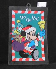 """Disney Christmas """"Mickey Mouse"""" Suction Cup Window Decoration"""