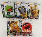 2021 Hot Wheels The Muppets COMPLETE YOUR SET Gonzo Piggy Kermit Fozzie Animal