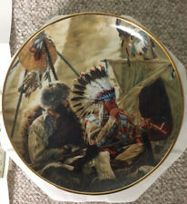 ":Breath Of Friendhship"" Colllector Plate By Paul Calle - The Franklin Mint"