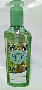 Bath & Body Works Coconut Mint Drop Gentle Gel Hand Soap w/Essential Oils.
