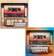 Guardians of the Galaxy: Awesome Mix Vol. 1 & 2 Movie Soundtrack Audio CDs NEW!