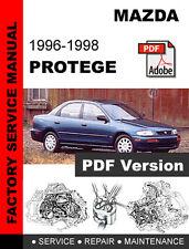 MAZDA PROTEGE 1996 1997 1998 ULTIMATE FACTORY OEM SERVICE REPAIR WORKSHOP MANUAL
