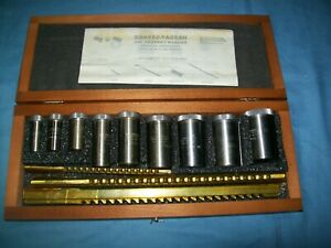 Nos Hassay Savage Standard Broach Set15320 30A/C2 with Hardwood Case