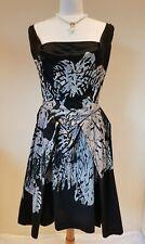 Vivienne Westwood black fit and flare Friday dress Size 46 UK 14