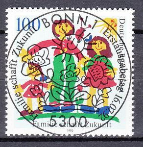 BRD 1992 Mi. Nr. 1621 gestempelt BONN Sonderstempel , mit Gummi (17754)