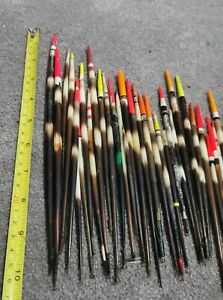 41 Vintage Porcupine Quill Coarse Fishing Floats / Bobbers