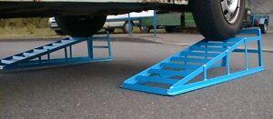 PKW Auffahrrampen  EXTRA BREIT bis 245 Reifen, 2000 kg