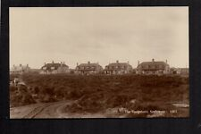 Seahouses - The Bungalows - real photographic postcard