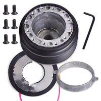 Steering Wheel Hub Adapter Boss Kit fit for Nissan 240SX 300ZX Maxima Pulsar