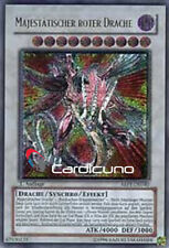 Majestätischer Roter Drache, DE 1. Auflage Ultimate Rare ABPF-DE040