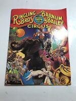 Ringling Bros and Barnum & Bailey Circus Program 1981 rare Greatest show earth