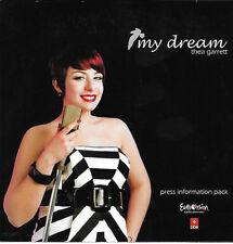 CD PROMO EUROVISION MALTA 2010 THEA GARRET MY DREAM