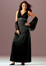 Abendkleid Laura Scott Evening. Schwarz. Gr. 34. NEU!!! KP 189,99 €