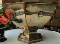 Antique English Georgian Silver Plate Bowl