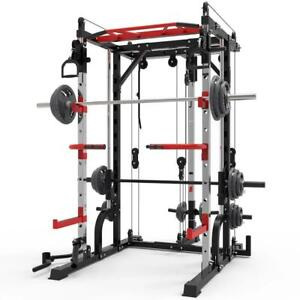 2021 All New Squat Rack Adjustable Heavy Weight Exercise Machine Home Gym
