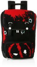 Marvel Deadpool Twelve Bullets Canvas Backpack - Rucksack