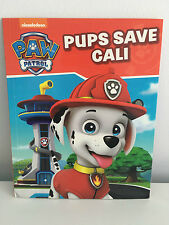 Nickelodeon Paw Patrol Pups Save Cali 2016 Book Kids Bedtime Storybook