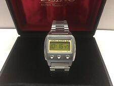 Seiko VFA Grail Watch 0614 LC Quartz LCD Digital 06LC Uhr MOT