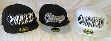 Chicago White Sox MLB The Ice Embroidered Baseball Cap Flat Bill NWT Fitted