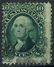 USA 1861 SG#64, 10c Green Washington Used #E2426