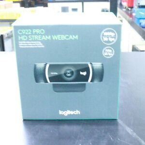 Logitech C922 Pro Stream Web Camera (960-001087) NEW IN BOX!