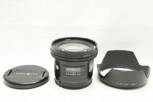 Minolta AF 20mm F2.8 Wide Angle Lens for Sony Minolta Alpha Mount #210908k