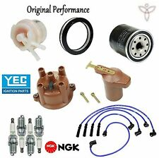 Ignition Tune Up Kit Filters Cap Rotor Spark Plug Wire for Toyota Pickup 83-84