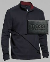 NWT Hugo Boss Black Label By Hugo Boss Contemporary 1/4-Zip Pullover Sweater