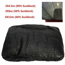 3Size Black Sunblock Shade Cloth UV Resistant Fabric Tarp Greenhouse Plant