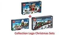 LEGO® COLLECTION CREATOR EXPERT CHRISTMAS SETS 10254 + 10259 + 10263 - NEW !!