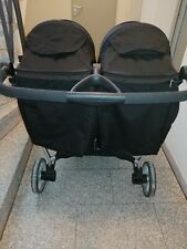 Britax Zwillingskinderwagen schwarz, sehr sauber benutzt