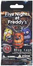 Five Nights At Freddy's Dog Tags Necklace Mystery Pack 1 Random Dog Tag Necklace