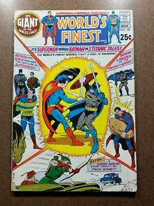 World's Finest Comics 197 Batman Superman PR/FR Silver Age DC Justice League