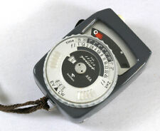 Gossen Super Pilot CdS Exposure Meter + Case & Strap