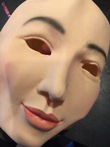 Gummimaske LILLY B-Ware Maske XXL Latex Crossdresser Swinger Frauenmaske Frau