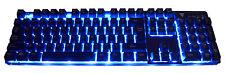 Comet Backlit Keyboard Mechanical Feel 3 Colour Compact Quiet Suspension Key Cap