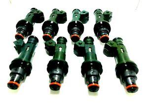 8X FUEL INJECTOR OEM Denso XR82-AD FOR 99-03 JAGUAR XJ8 VANDEN PLAS 4.0L V8
