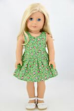 Spring St.Patrick's Day Green Dress American Made Doll Clothes18 Inch Girl Dolls