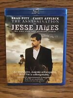 The Assasination Of Jesse James (Blu-ray) Disc Near Mint Brad Pitt Casey Affleck