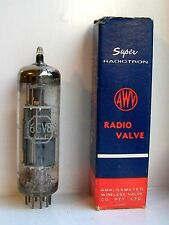 6GV8 Vacuum Tube Radio Valve Old Stock Original Box Tested Express Delivery