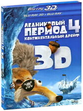 Ice Age 4: Continental Drift (Blu-ray 3D+2D) Eng,Rus,Latvian,Lit,Est,Chi,Ukr
